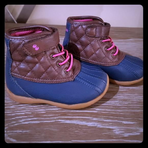 Girls Duck Boots Size